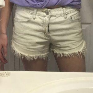 Free People denim shorts 27